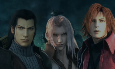 Angeal, Sephiroth and Genesis